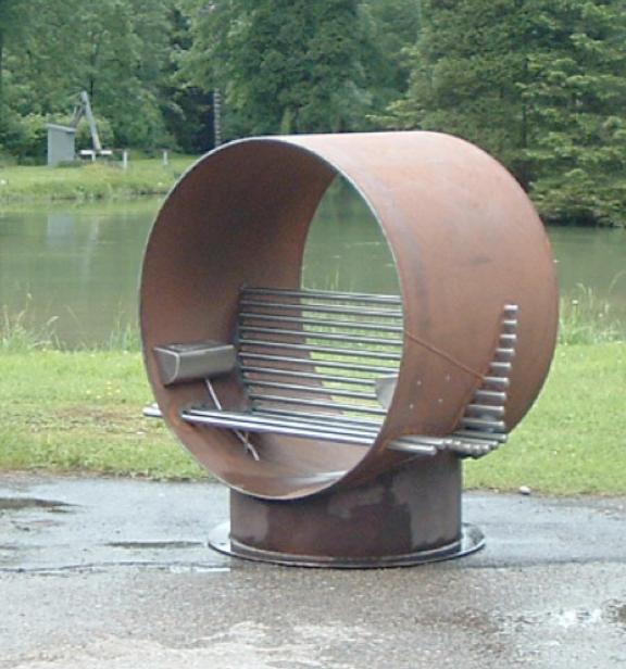 Wasserkraftfischschnecke